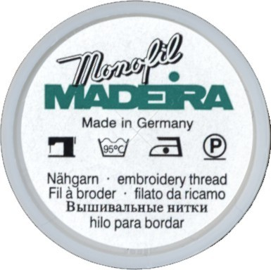 Madeira Monofil Transparentfaden 1.000 m