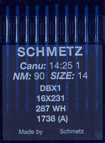 Maschinennadeln Schmetz 287 WH
