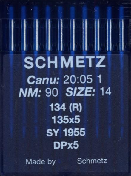 Maschinennadeln Schmetz 134 (R)