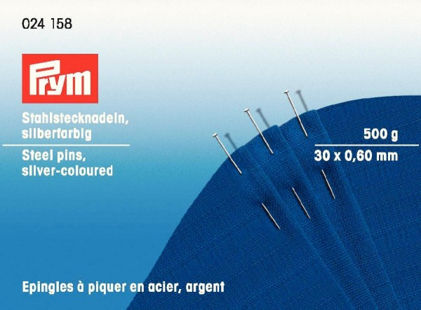 Prym Stahlstecknadeln extra fein 500 g