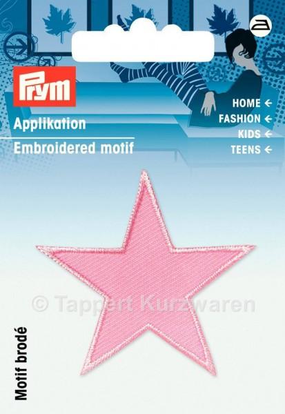 Prym Applikationen Sterne rosa (2 Stück)