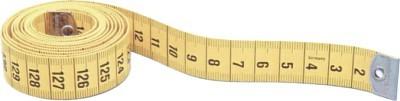 Schneidermaßband gelb/gelb 200 cm