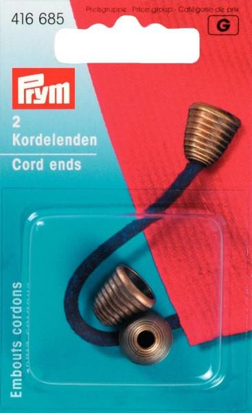 Prym Klapp-Kordelenden Traffico, 2 Stück