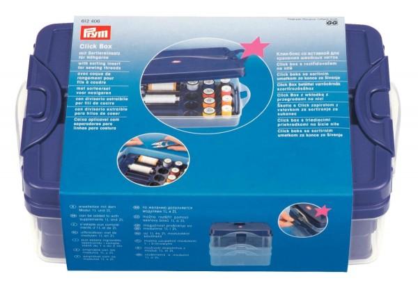 Prym Click-Box mit Sortiereinsatz