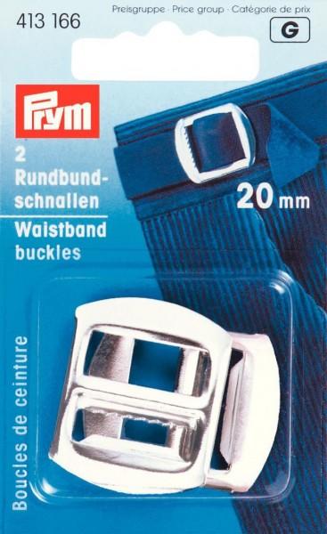 Prym Rundbundschnallen 20 mm, 2 Stück