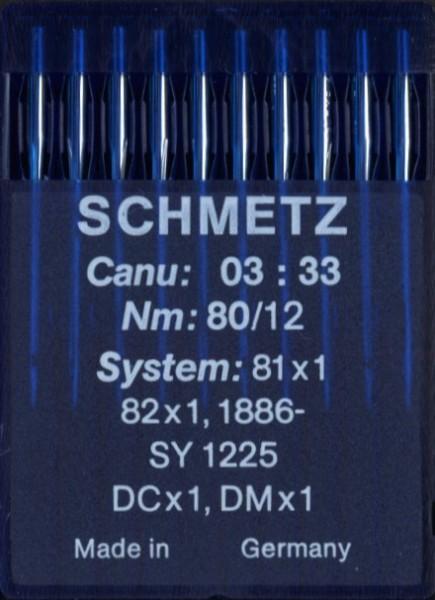 Maschinennadeln Schmetz DCx1
