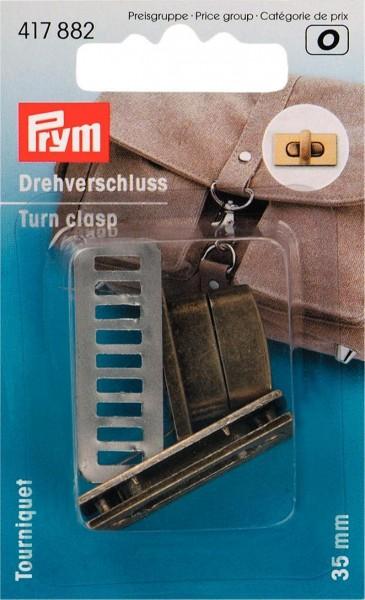 Prym Drehverschluss für Taschen 35 x 17 mm