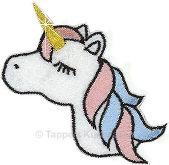Applikation Einhorn / Unicorn 1
