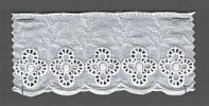 Baumwollspitze 60 mm, 8,5 m