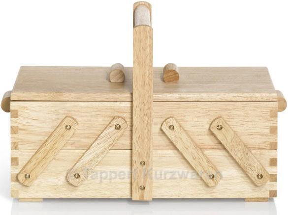 Prym Nähkasten Holz hell S (klein)