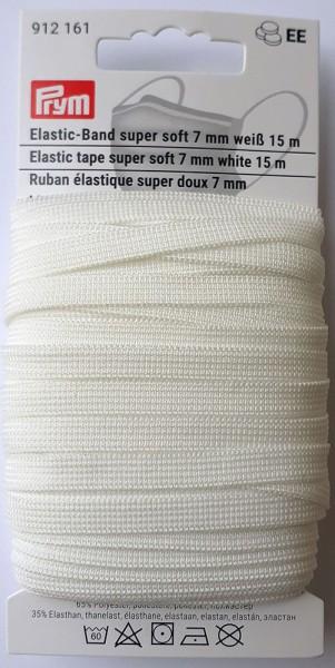 Prym Elastic-Band Super Soft 7 mm, 15 m
