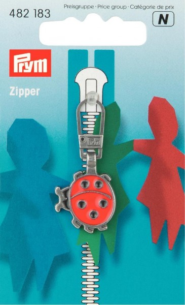 Prym Fashion-Zipper Marienkäfer