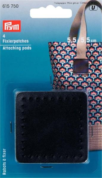 Prym Fixierpatches 5,5 cm x 5,5 cm, 4 Stück