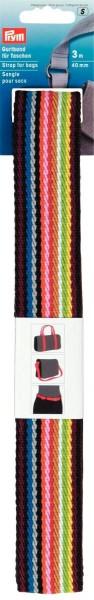 Prym Gurtband mehrfarbig 40 mm, 3 m