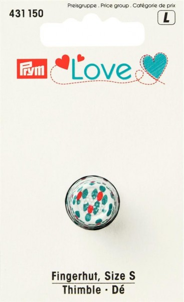 Prym Fingerhut Love