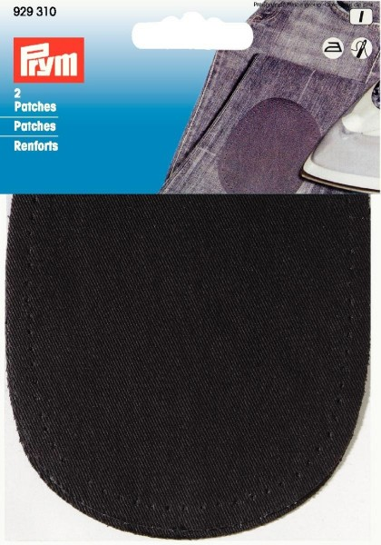 Prym Patches Baumwolle 14 x 10 cm, 2 Stück