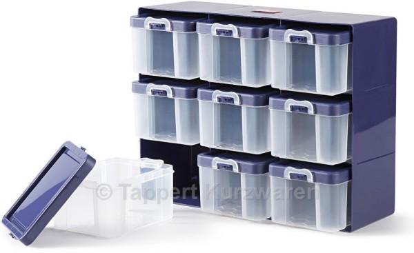 Prym Sortierkasten mit 9 Boxen