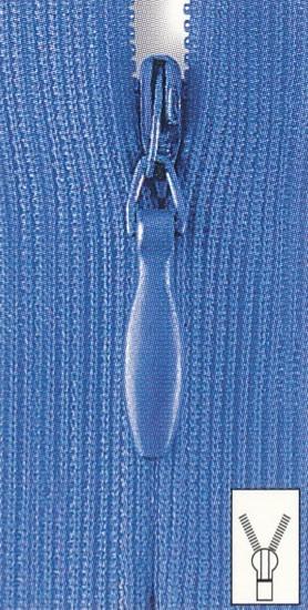 Reißverschluss Perlon nahtverdeckt 60 cm