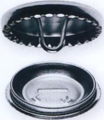 Prym Überziehbare Knöpfe Metall 100 Stück