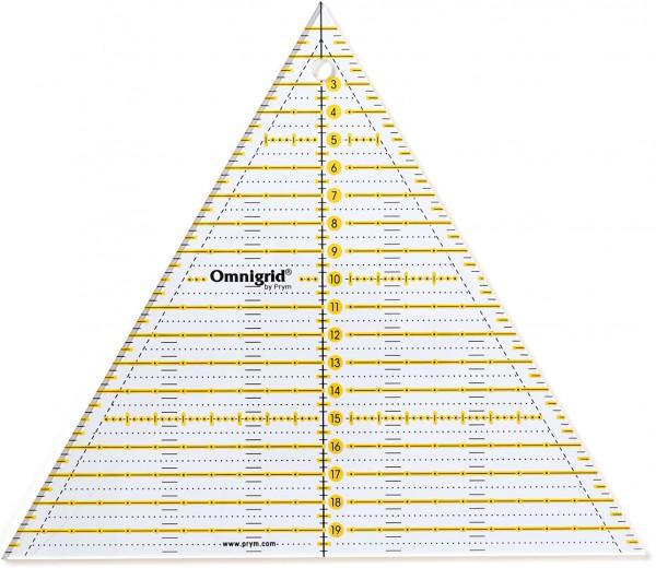 Prym Universal-Lineal Dreieck Multi 23 x 20 cm