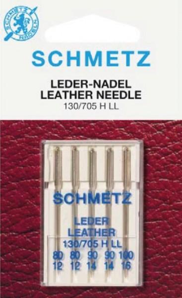 Maschinennadeln Schmetz 130/705 H LL Leder