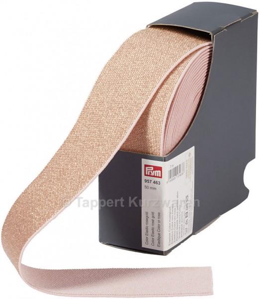 Prym Color-Elastic roségold 50 mm, 7 m