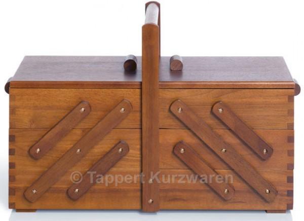 Prym Nähkasten Holz dunkel L (groß)