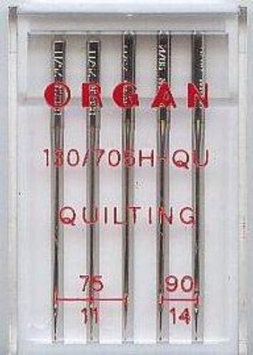 Maschinennadeln Organ 130/705 H-QU Quilting