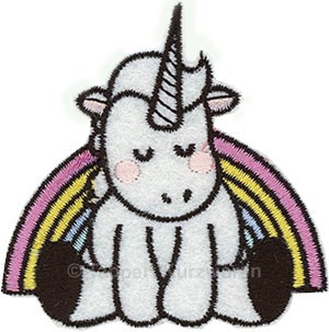 Applikation Einhorn / Unicorn 2