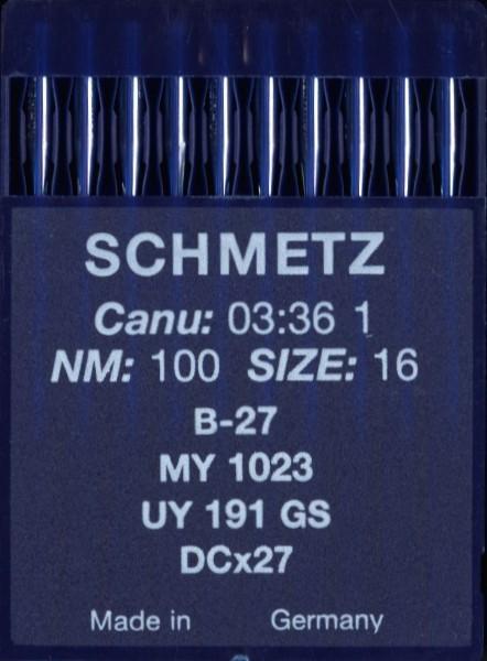 Maschinennadeln Schmetz B-27
