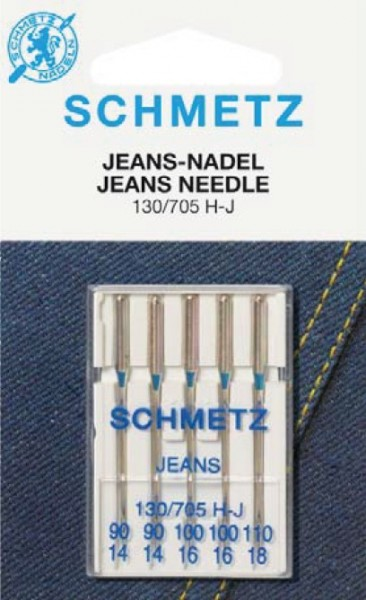 Maschinennadeln Schmetz 130/705 H-J Jeans