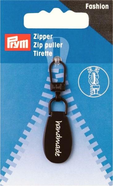 Prym Fashion-Zipper handmade braun