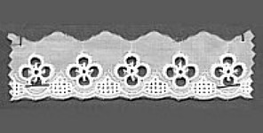 Baumwollspitze 35 mm, 8,5 m