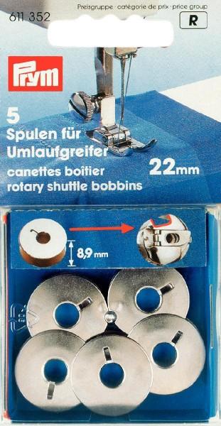 Prym Metallspulen für Umlaufgreifer 21,9 mm