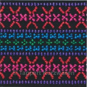 Prym Color-Elastic Pinkmuster 50 mm, 7 m