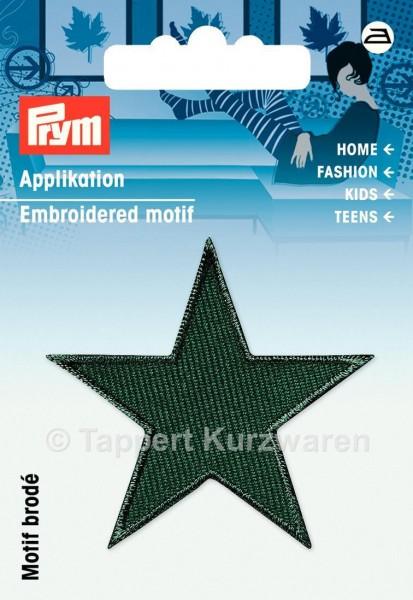 Prym Applikationen Sterne grün (2 Stück)