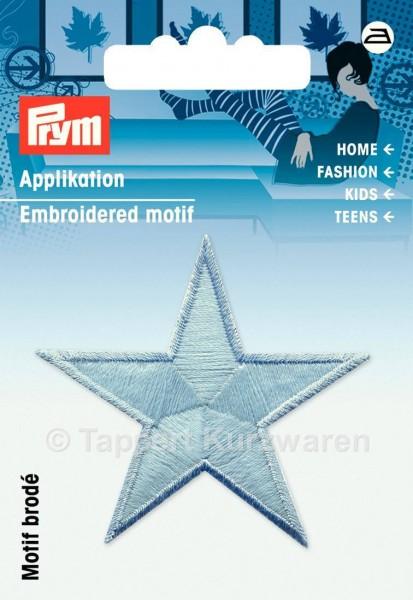 Prym Applikationen Stern selbstleuchtend blau (2 Stück)