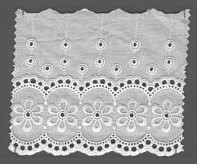 Baumwollspitze 110 mm, 8,5 m