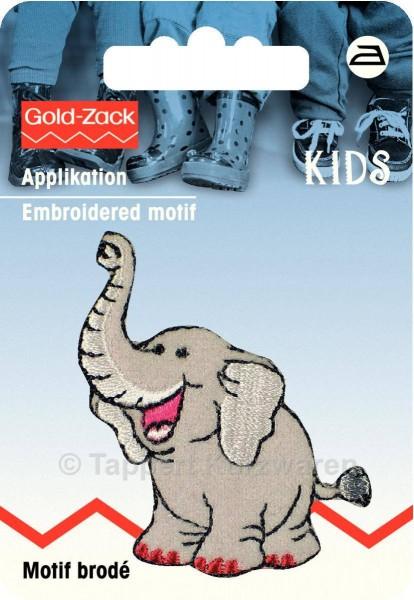 Prym Applikation Elefant grau