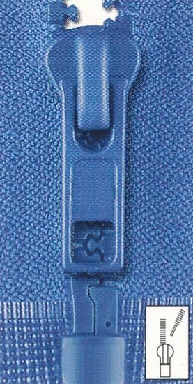 Farbkarte Reißverschluss Krampe teilbar 120 cm