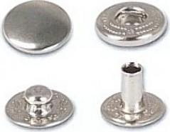 Prym Druckknöpfe Anorak mit großem Unterteil 15 mm, 10 Stück