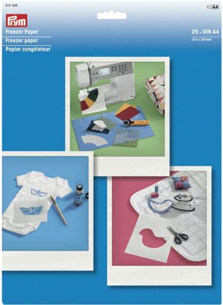 Prym Freezer Papier A4, 25 Blatt