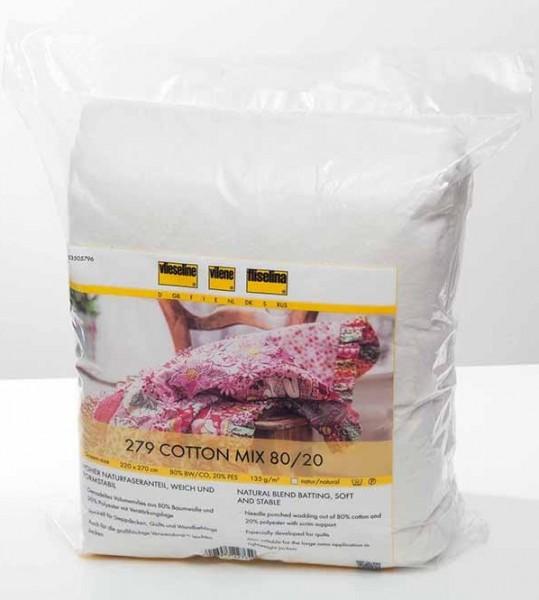 Vlieseline 279 Cotton Mix 80/20, 244 cm