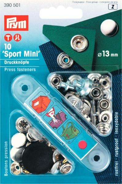 Prym Druckknöpfe Sport Mini 13 mm, 10 Stück