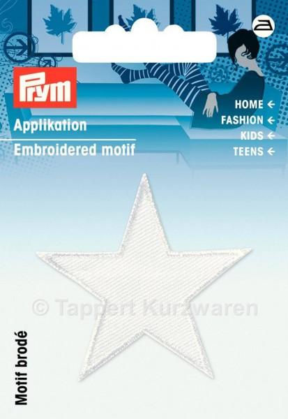 Prym Applikationen Sterne weiß (2 Stück)