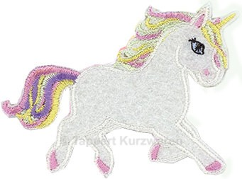 Applikation Einhorn / Unicorn 4