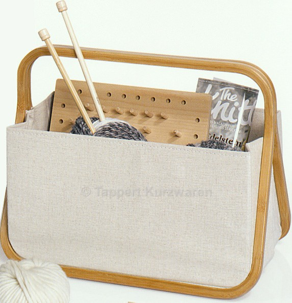 Prym Fold & Store Basket L natur