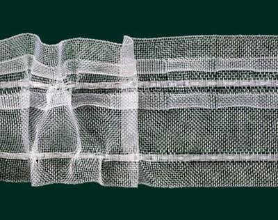 Kräuselband universal transparent 50 mm, 100 m