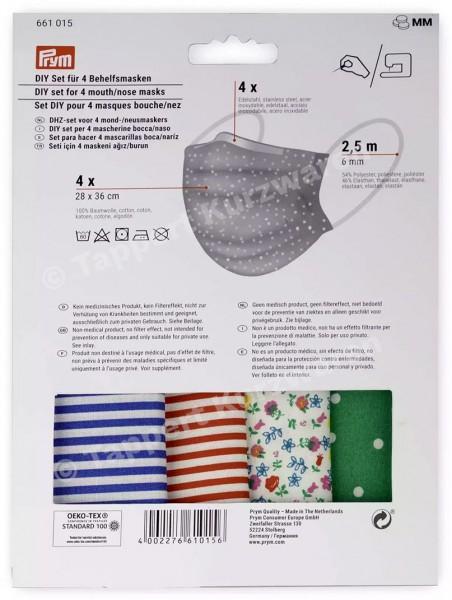 Prym DIY Set für 4 Behelfsmasken