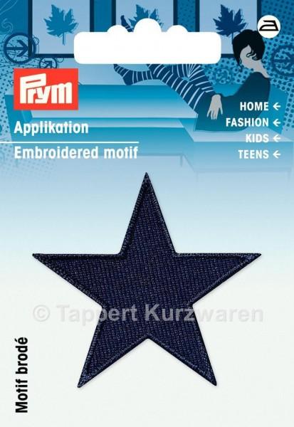 Prym Applikationen Sterne dunkelblau (2 Stück)
